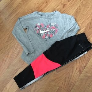 Nike girl outfit 4t
